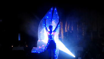 light show-led show-lichtershow-heidelberg-hamburg-frankfurt-sabrina wolfram-art-project