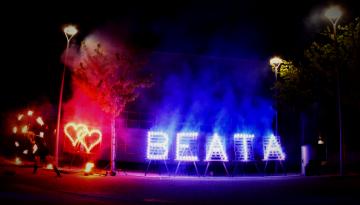 lichterbild-geburtstagsfeier-feuershow-lichterbild hochzeit-brennendes herz