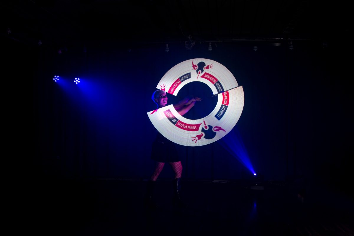 Firmenevents-LED-lichtshow-lightshow-weihnachtsfeier-lichtshow programm-logo darstellen_led