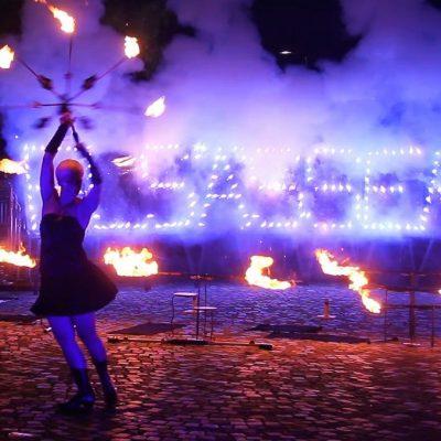 Weihnachtsfeier-Pyro-Show-Feuershow-Feuerwerk-Firmenfeier-Firmenevents-Sabrina Wolfram-swap-Heidelberg